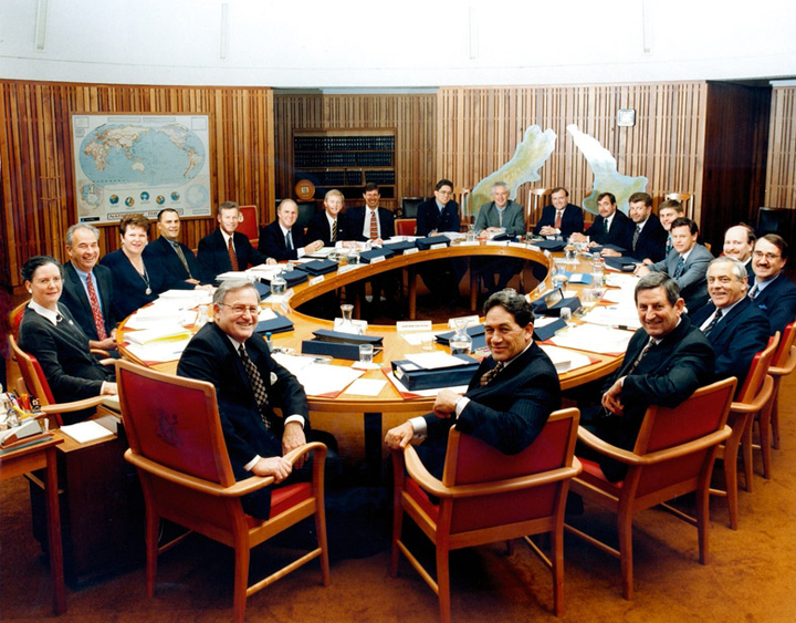 Jim Bolger and the 1997 Coalition Government