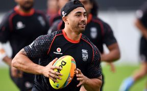 Shaun Johnson has made it clear he wants to stay with the Warriors.
