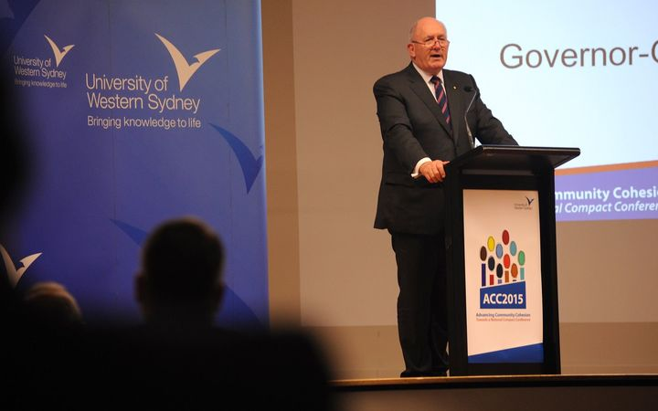 Australia's Governor General, Sir Peter Cosgrove.