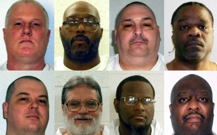 Arkansas Supreme Court rejects death row stays