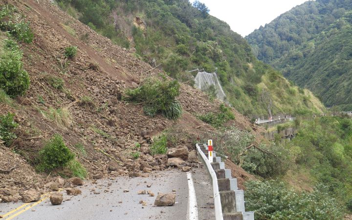 Manawatu Gorge is prone to slips, and will stay closed for three weeks.