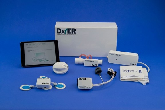 DxtER is a Medical Tricorder from Basil Leaf Technologies
