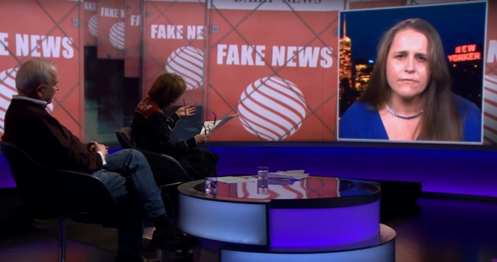 Claire Wardle debates the impact of so-called 'fake news' on BBC TV.
