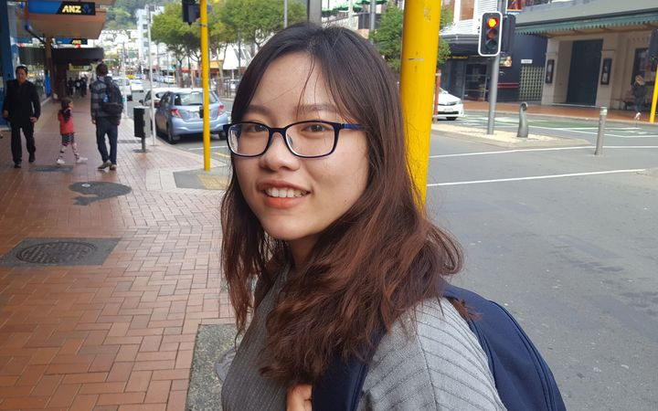 Ha Vo from Vietnam is one of more than 130,000 foreign students expected to study in New Zealand this year. She is in her third year of study at Victoria University.