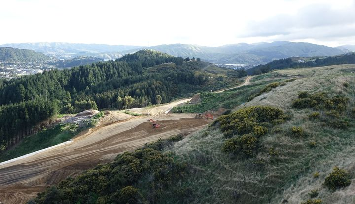 Transmission Gully will run from Kapiti to south of Porirua when it is completed in April 2020.