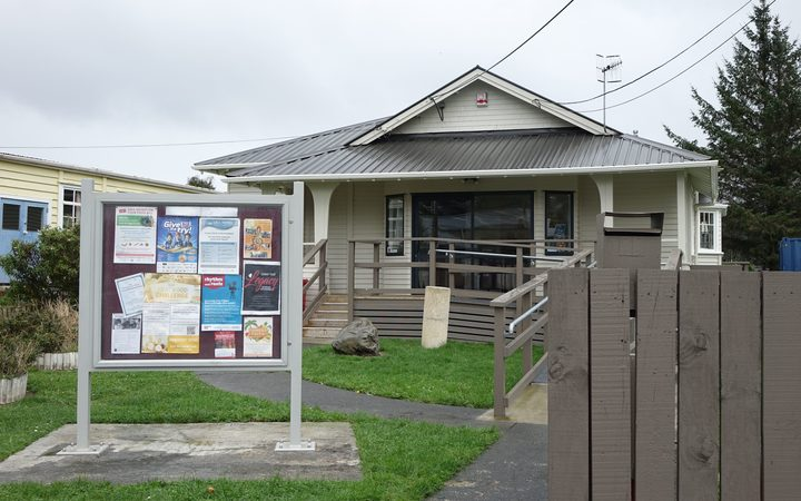 Pomare community centre, where Ms Tamaka volunteers.