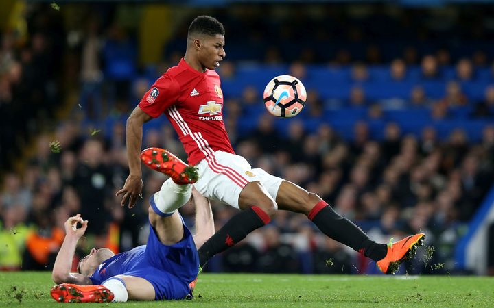 Rashford gives Man United win in Europa League semifinals