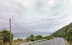 State Highway 6 near Greymouth, known as Coast Road.