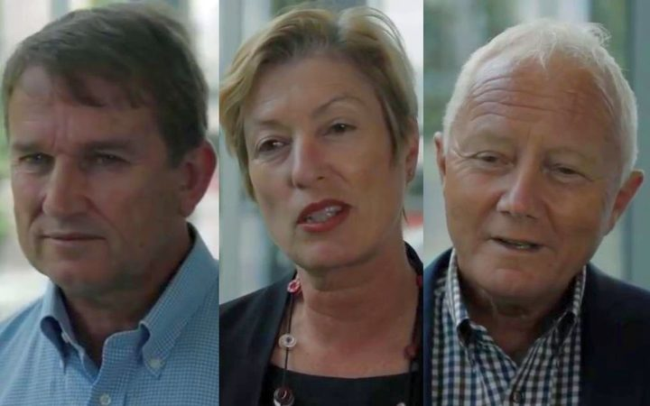From the videos: Dairy Companies' of NZ Association chair Malcolm Bailey, Export NZ's Catherine Beard and Auckland Chamber of Commerce CEO Michael Barnett.