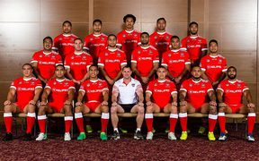 The Mate Ma'a squad for the Pacific Test v Fiji.