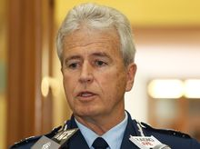 Police Commissioner Peter Marshall.