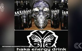 Outrage over Canadian 'Haka' energy drink using moko design: RNZ Checkpoint