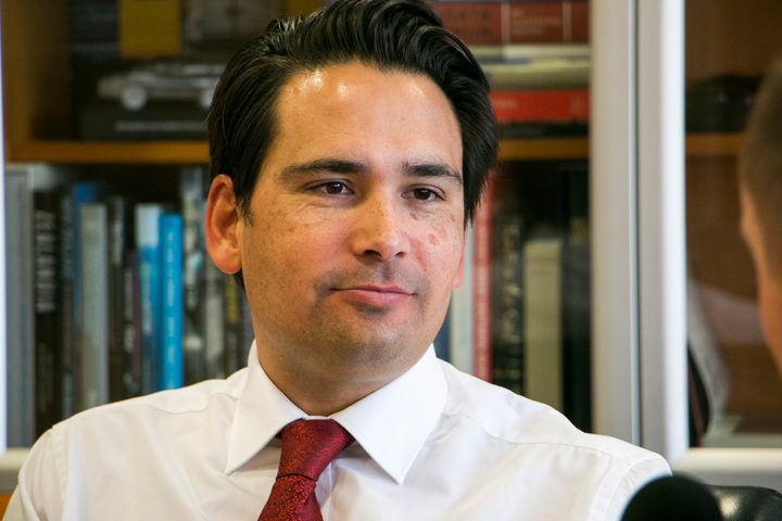 National MP and leader of the House Simon Bridges.