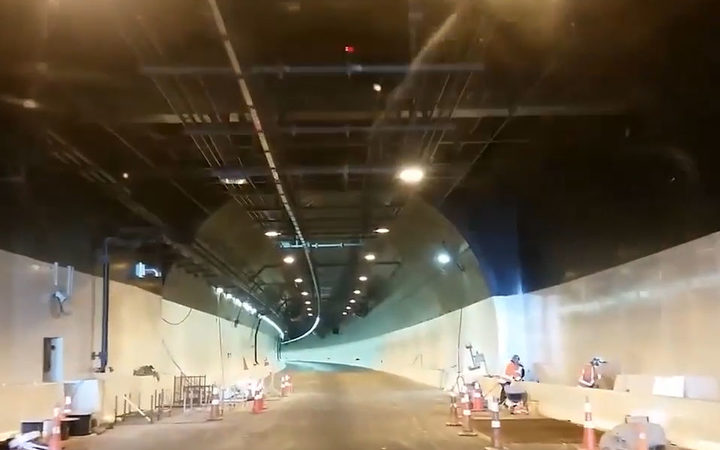 The Waterview tunnel opening was delayed by several months.
