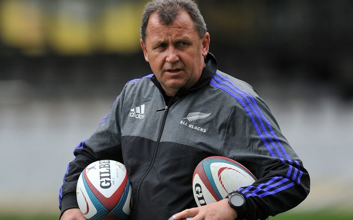 All Blacks assistant coach Ian Foster