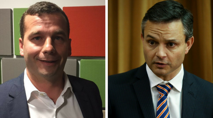 Act Leader David Seymour & Green co-leader James Shaw