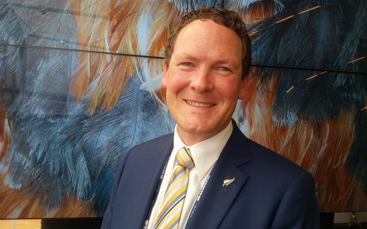 Tourism New Zealand chief executive Stephen England-Hall