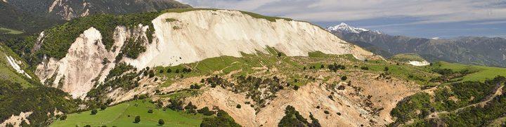 Seaview landslide