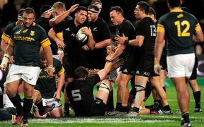 South Africa will face the All Blacks in the pool stage for the first time in a blockbuster clash.
