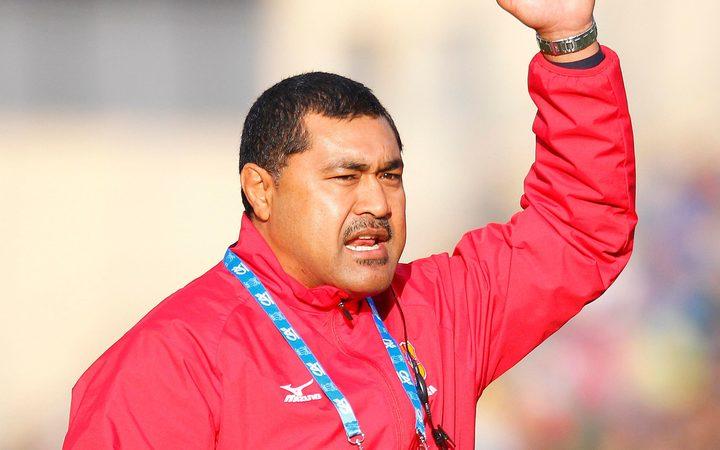 Tonga rugby coach Toutai Kefu