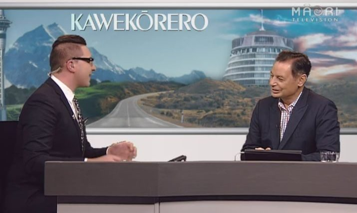 Paora Maxwell explains his decision to step down as chief executive of Maori Television to presenter Kawe Roes.