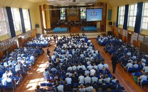 Nelson College assembly