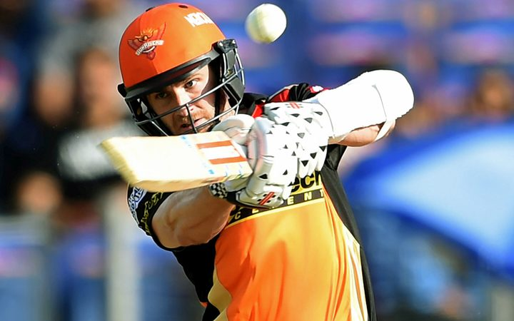 Kane Williamson in action at the IPL.