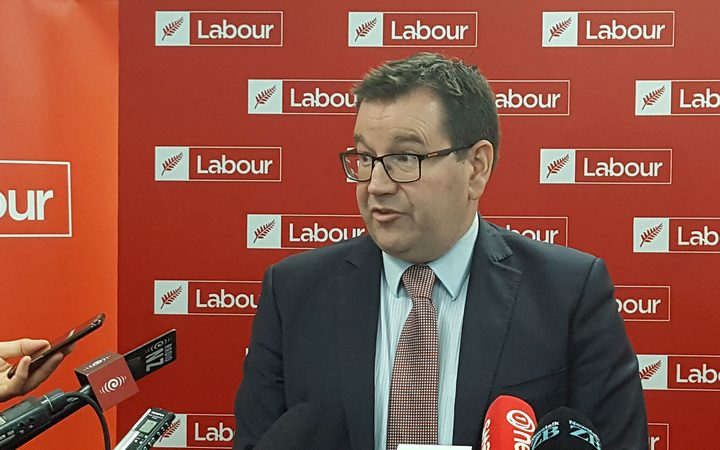 Labour MP Grant Robertson at the party's  election year congress.