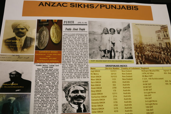 Valour comes to light - NZ Indian Anzacs