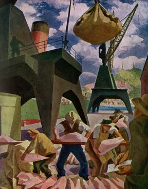 Oil on canvas (lost in the London Blitz). Art in New Zealand, September 1931