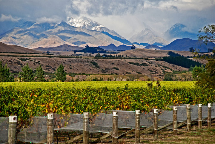 Autumn in the Awatere Valley