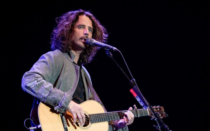 Chris Cornell performing at Roma Auditorium Parco della Musica, Italy in April last year.
