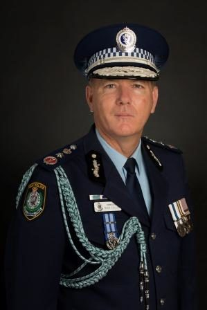 NSW Police Commissioner Mike Fuller