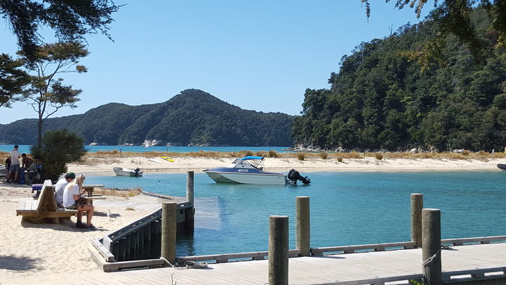 About a quarter of a million people visited Abel Tasman National Park over the 2016/17 season.