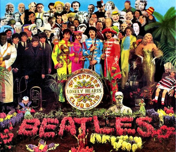 Sgt Pepper's Lonely Hearts Club Band cover