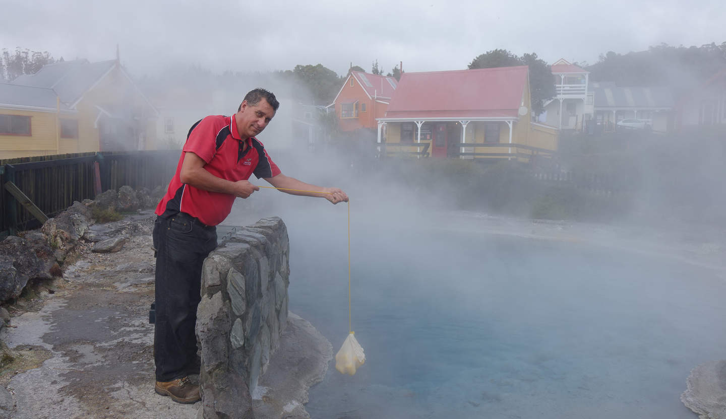 James Warbrick says the number of visitors to Whakarewarewa thermal village needs to be limited to protect the fragile environment.