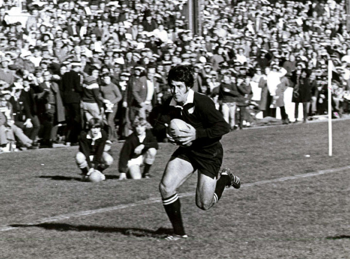 Bryan Williams always scored the tries.