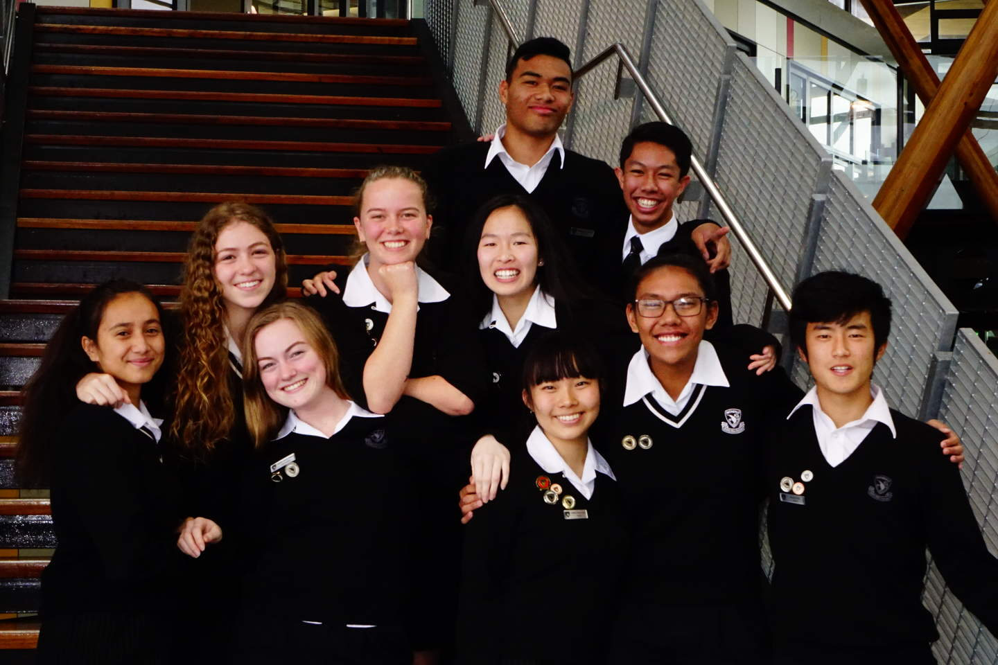 There are 30 different ethnicities represented at Auckland's Avondale College