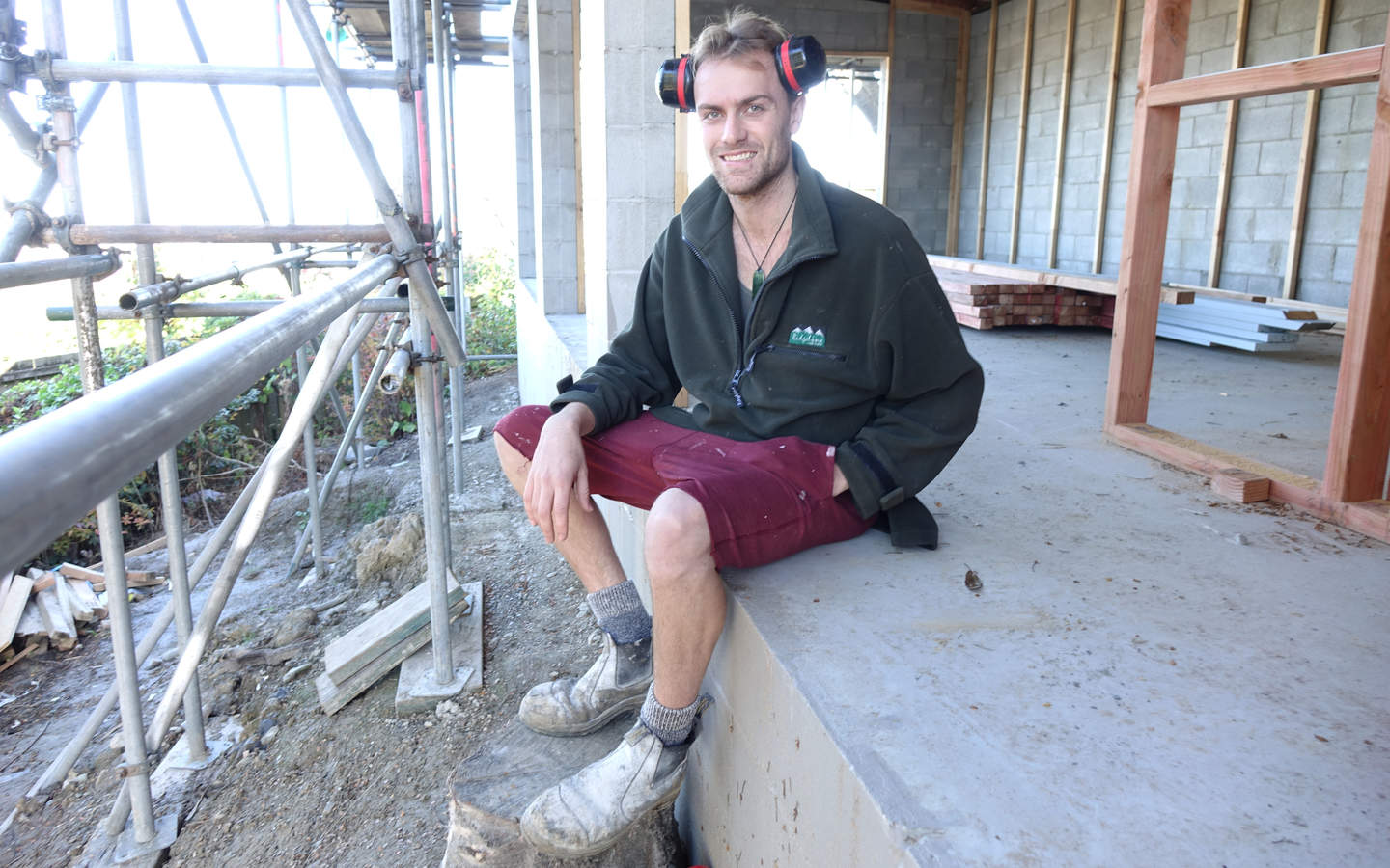 Jesse Price was able to buy two houses in Dunedin while still a builder's apprentice