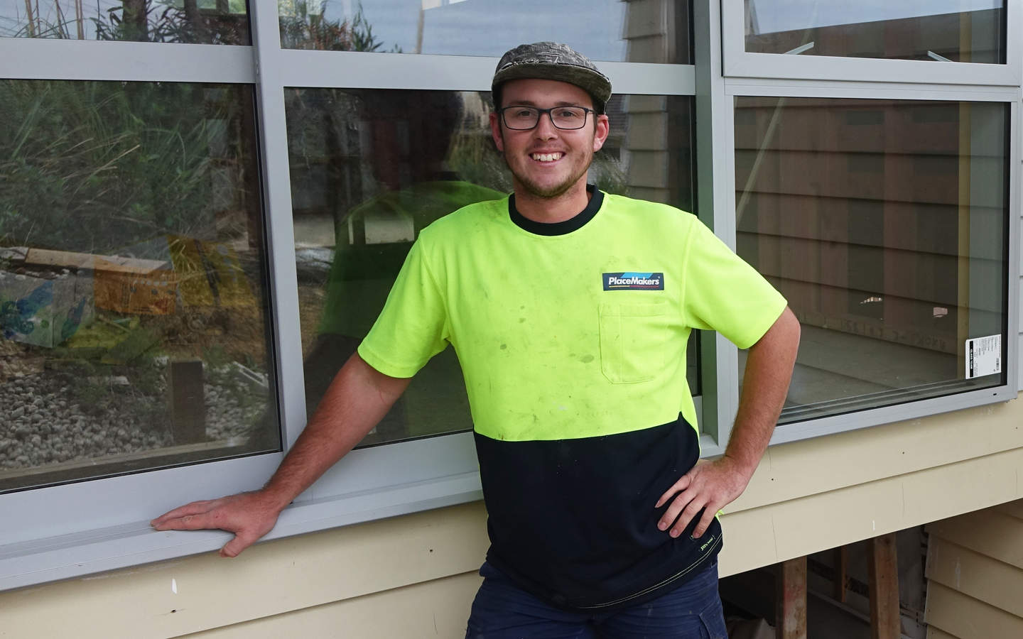 Bradley Heath builds houses for a living - but says he'll have to move out of Auckland to buy his own.