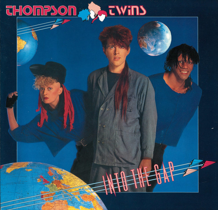 Thompson Twins - Into The Gap album cover