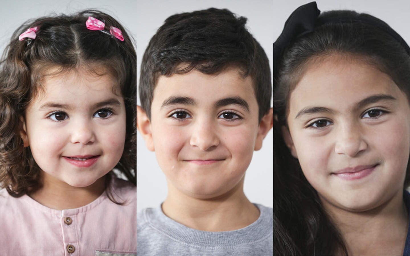 Najwa Youssef, 2, and her older siblings Ahmad,6, and Lin, 8, live in Titahi Bay.