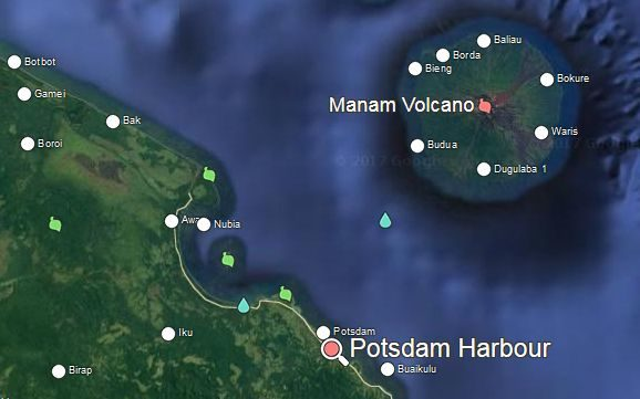 Manam Islanders evacuated due to volcanic activity on their island are staying at a care centre at Potsdam Harbour.
