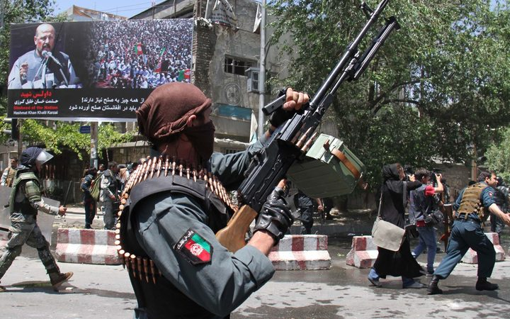 Bombers kill at least 6 attending Kabul funeral