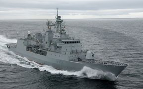 The HMNZS Te Mana