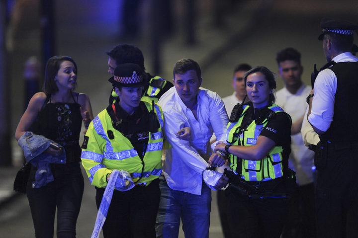 Terror incident on London Bridge