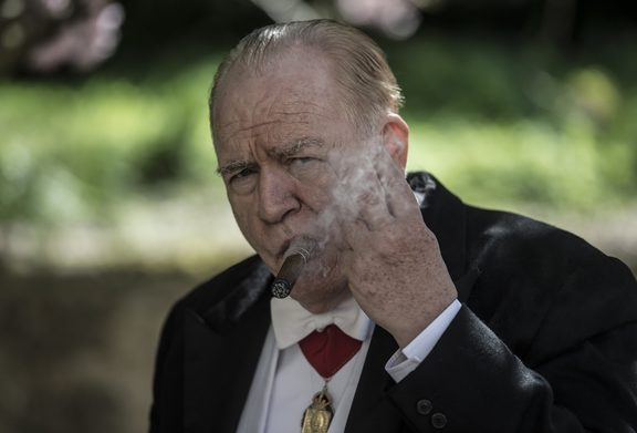 Brian Cox as Winston Churchill in Churchill.