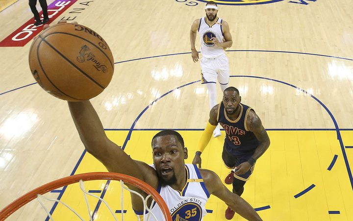 Golden state defeated Cleveland in the second game of the NBA Finals