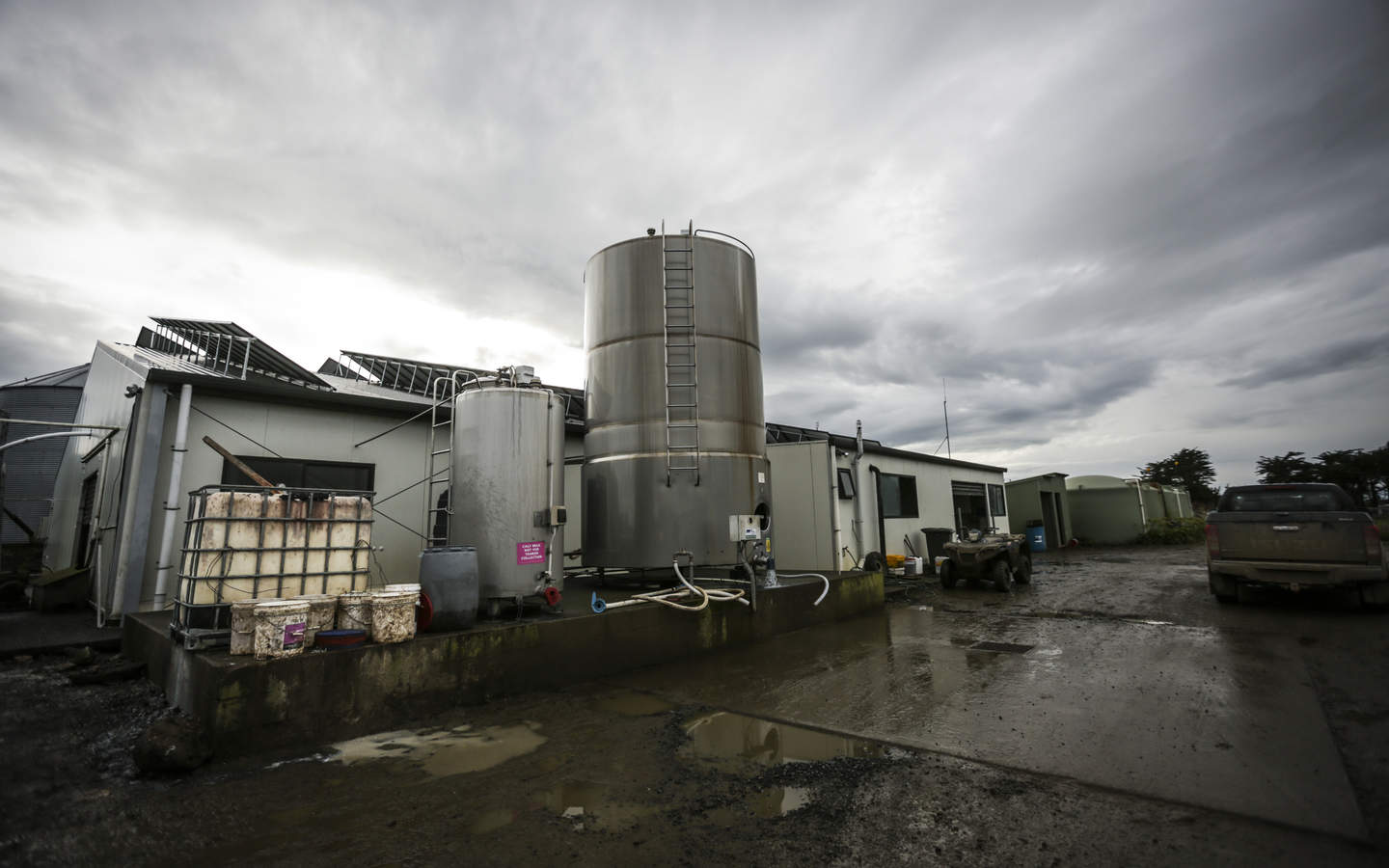 The Mathiesons have invested the profits from high Fonterra pay-outs into infrastructure that helps the farm weather the lean years
