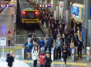 Auckland Transport says the challenge to boost passenger numbers remains alive.